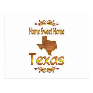 Home Sweet Home Texas Postcard