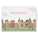 Home Sweet Home Thank you Greeting Card