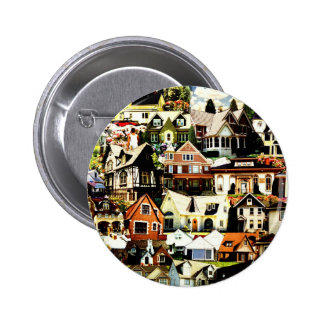Home Sweet Home tif Pinback Buttons
