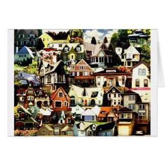 Home Sweet Home tif Greeting Card