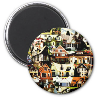 Home Sweet Home tif Refrigerator Magnets
