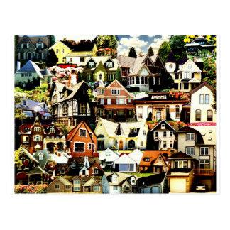 Home Sweet Home tif Postcard