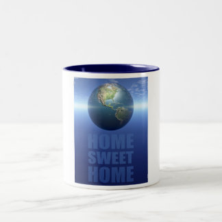 Home Sweet Home Two-Tone Coffee Mug