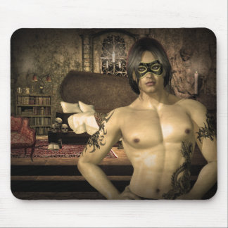 Home Sweet Home Vampire Fantasy Mouse Pad