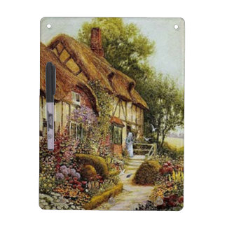 Home Sweet Home Vintage County Cottage Dry Erase B Dry Erase Board