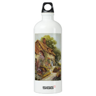 Home Sweet Home Vintage County Cottage Liberty Bot SIGG Traveler 1.0L Water Bottle