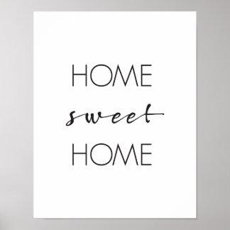 Home Sweet Home Wall Art home sweet home art & framed artwork | zazzle