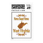 Home Sweet Home West Virginia Postage