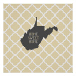 Home Sweet Home West Virginia Posters
