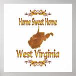 Home Sweet Home West Virginia Print