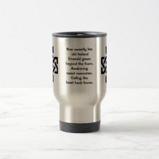 home sweet Ireland 15 Oz Stainless Steel Travel Mug
