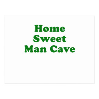 Home Sweet Man Cave Postcard