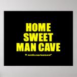Home Sweet Man Cave YB Print
