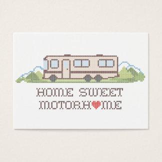 Home Sweet Motor Home, Class A Fun Road Trip Business Card