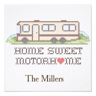 Home Sweet Motor Home, Class A Fun Road Trip Card