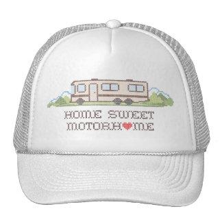 Home Sweet Motor Home, Class A Fun Road Trip Hat