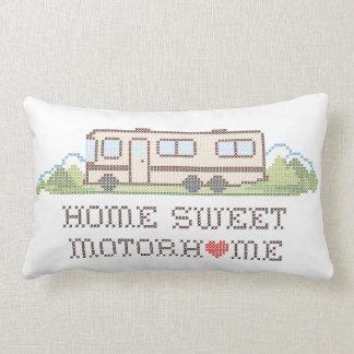 Home Sweet Motor Home, Class A Fun Road Trip Pillow