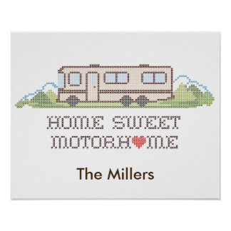 Home Sweet Motor Home, Class A Fun Road Trip Poster