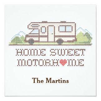 Home Sweet Motor Home, Class C Fun Road Trip Card