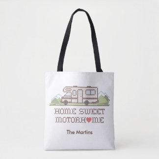 Home Sweet Motor Home, Class C Fun Road Trip Tote Bag