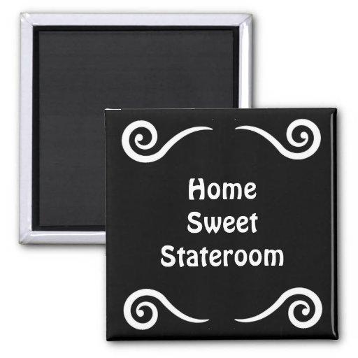 Home Sweet Stateroom Door Marker Magnets