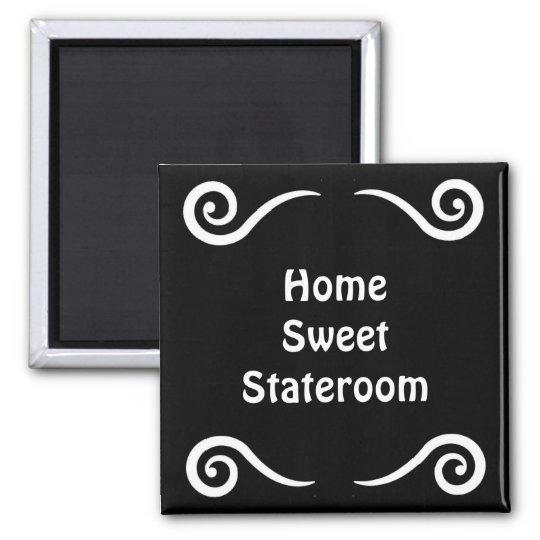 Home Sweet Stateroom Door Marker Magnet