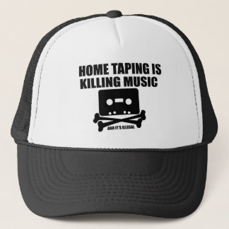 Home Taping is Killing Music! Trucker Hat