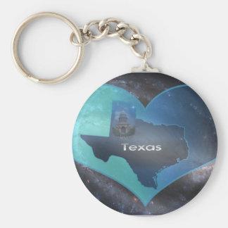 Home Texas Keychain