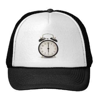Home time!! Cute vintage clock Trucker Hat