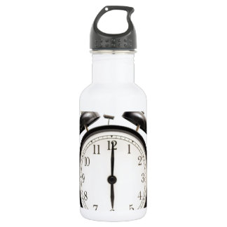 Home time!! Cute vintage clock Stainless Steel Water Bottle