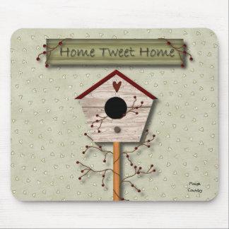 Home Tweet Home Mousepad