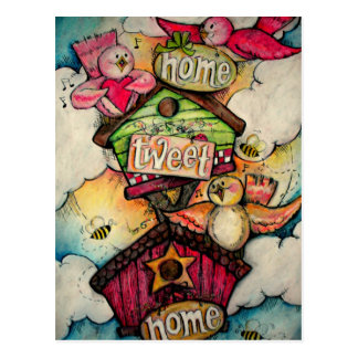 Home Tweet Home Post Cards