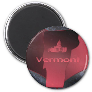 Home Vermont 2 Inch Round Magnet