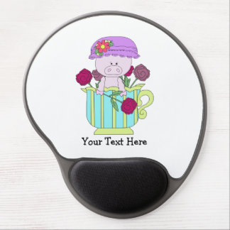 Home Vertical Template Gel Mouse Pad
