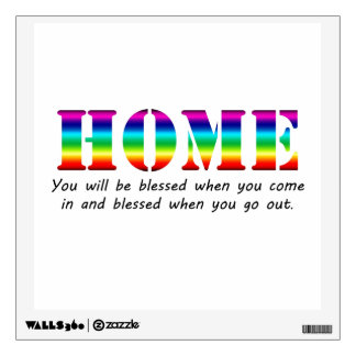 Home Wall Sticker
