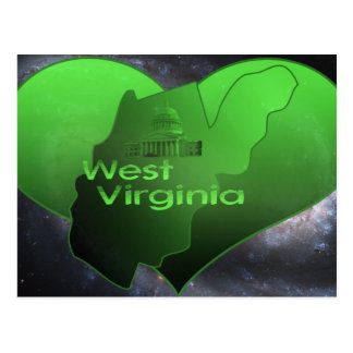 Home West Virginia Postcard
