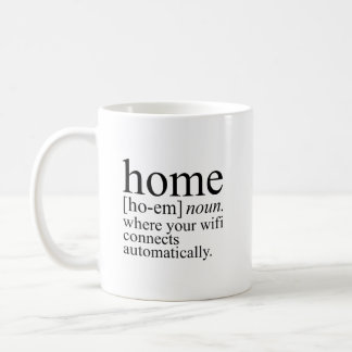 Home Wifi Coffee Mug