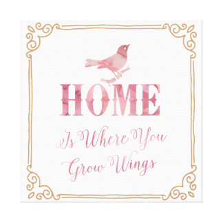 Home Wings Canvas