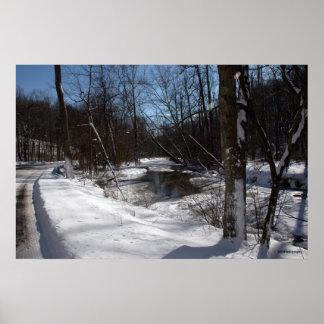 Home- Winter. print 04078