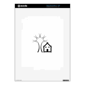 Home with green iPad 2 decals
