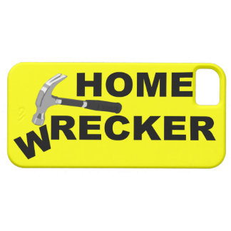 Home Wrecker iPhone SE/5/5s Case