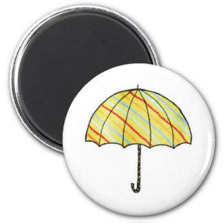 Homeberries Stripy Umbrella Refrigerator Magnets