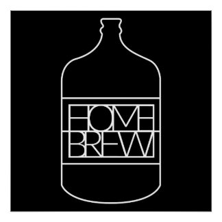 Homebrew (Carboy) Poster