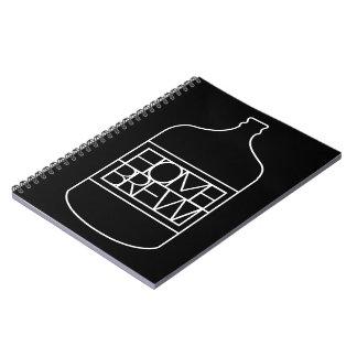 Homebrew (Carboy) Spiral Notebook