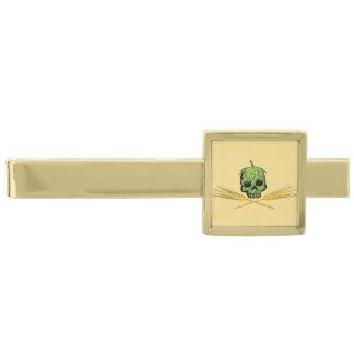 Homebrew Pirate Gold Finish Tie Bar