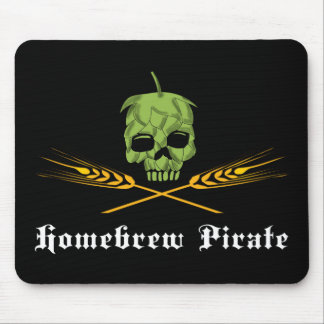 Homebrew Pirate Mouse Pad