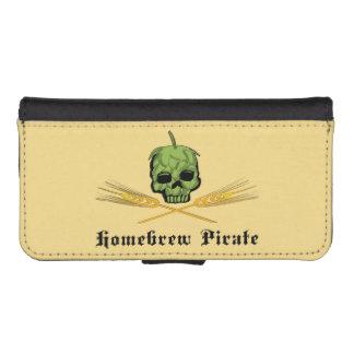 Homebrew Pirate Phone Wallet Case