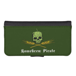 Homebrew Pirate Phone Wallet Cases