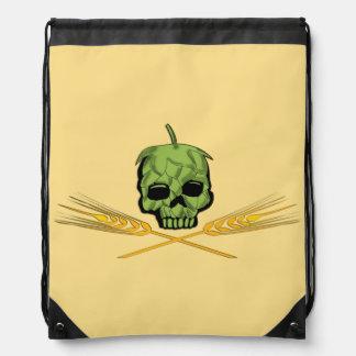 Homebrew Pirate Drawstring Bags