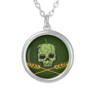 Homebrew Pirate Round Pendant Necklace